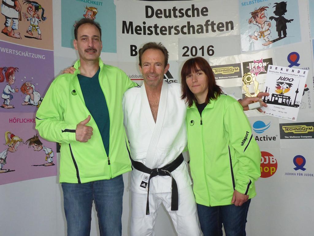 Bremer Judoka bei den Deutschen Einzelmeisterschaften Ü30 in Berlin erfolgreich