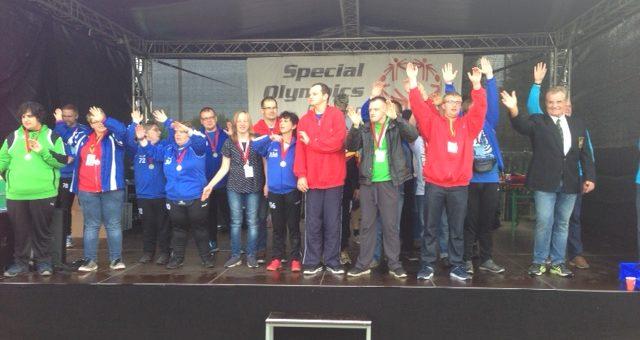 Spannung und Begeisterung bei den Special Olympics
