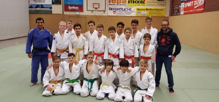 BJV Trainingslager der männlichen U15 in Westerstede