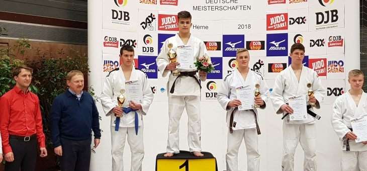 Mit klaren technischen und schnellen Siegen zum Deutschen Meister