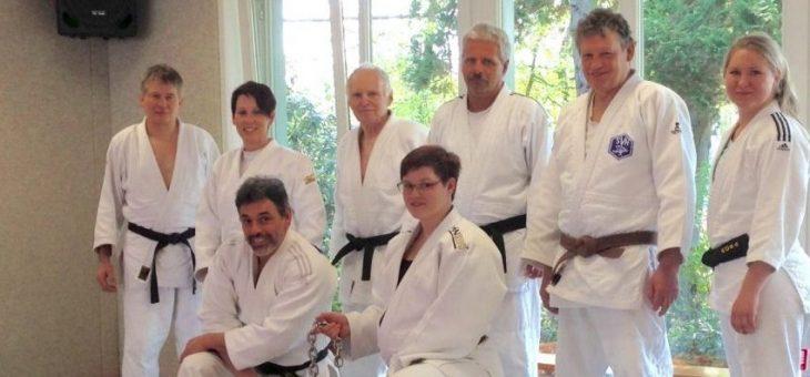 Das erste Verbandstraining für die etwas ältere Judo-Generation