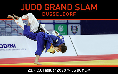 JUDO GRAND SLAM in DÜSSELDORF
