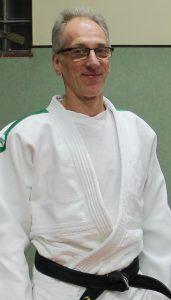 Das verschmitzte Lächeln von Claus Dierks – gegenüber vielen Judokas ein besonderes und anerkennendes Merkmal.